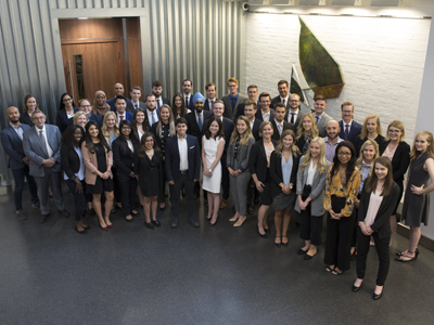 Sarah Palmer Welcomes Incoming Master of Public Policy Students for September 2018