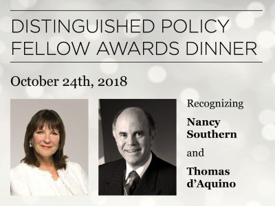 Distinguished Policy Fellow Awards Dinner
