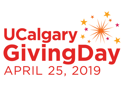 UCalgary Giving Day is coming up on April 25!