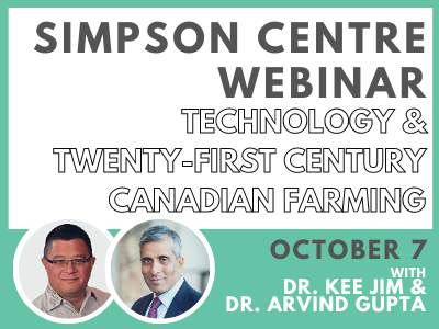 Agri-Foods and Innovation Discussion: Technology and Twenty-first Century Canadian Farming