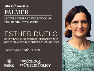 The 15th James S. Palmer Lecture Series