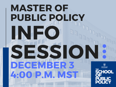 MPP Information Session: Change the World with a Master of Public Policy