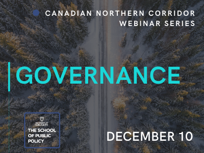 Governance Options for a Canadian Northern Corridor