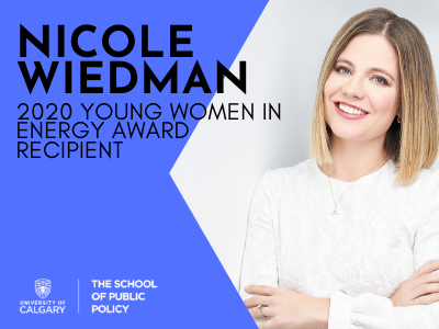 Nicole Wiedman, 2020 Young Women in Energy Awards Recipient