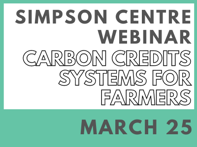 Carbon Credits Systems for Farmers – Value Added?